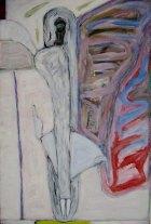 1979, Vrouw met Tafel, 120 x 80 cm