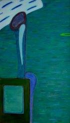 1979, Wachten, 140 x 80 cm