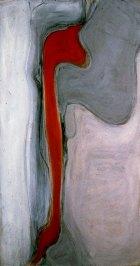 1982, Rode Vorm, 130 x 70 cm