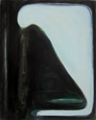 1984, Landschap donker licht, 100 x 80 cm