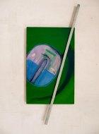 1985, Tak met Bloesem, 128 x 85 cm