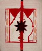 1985, Zwarte Ster, 140 x 115 cm