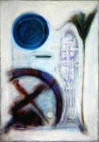 1986, Boogschutter, 100 x 70 cm