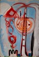 1986, Louise, 100 x 70 cm