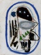 1986, Meisje, 20 x 15 cm