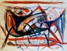 1986, Ritme, 75 x 100 cm