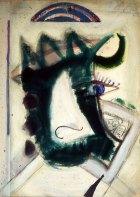 1989, Bulls Eye, 114 x 82 cm