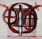 1989, Vrouw in het Park, 131 x 141 cm