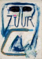 1990, Zuur om Zeven uur, 112 x 80 cm