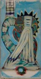 1990, M.D., 126 x 65 cm
