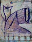 1991, de Kade, 90 x 70 cm