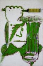 1992, WC-borstel2, 90  x 60 cm
