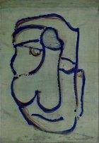1996, Blues Brother, 43 x30 cm