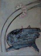 1997, onder de Bloesem, 102 x 70 cm