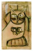 2001, Kattebel, 150 x 90 cm
