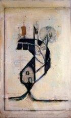 2001, Woonboot, 130 x 78 cm