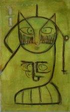 2002, Kattebel2, 150 x 92 cm