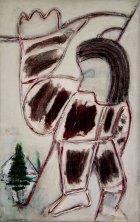 2003, Liften, 85 x 55 cm