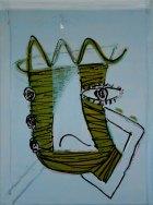 2005, Bulls Eye, 126 x 94 cm